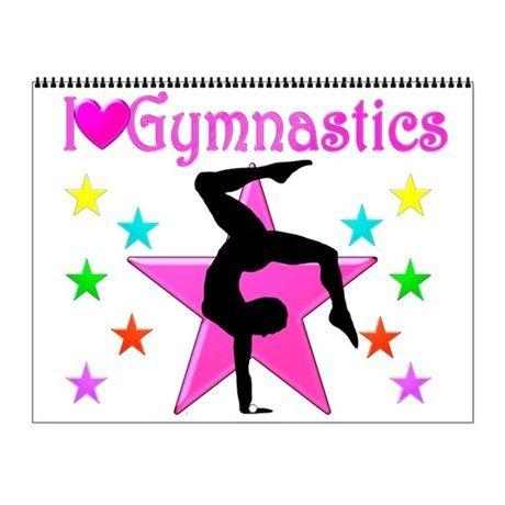 GYMNASTCS Wall Calendar Inspire your awesome Gymnast to go for gold with our original and motivational Gymnastics Calendars. http://www.cafepress.com/sportsstar/10135150  #Gymnastics #Gymnast #WomensGymnastics #Gymnastgift #Lovegymnastics #Gymnastcalendar #Gymnasticscalendar