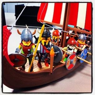 #PLAYMOBIL vikings de Catoira