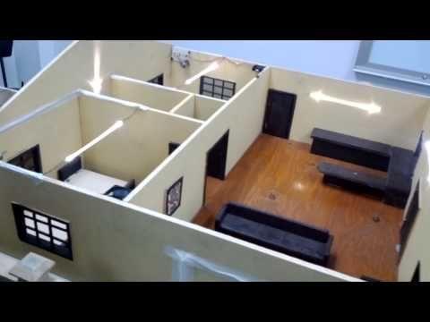 Casa Domotica con Arduino, raspberry pi, plc ,server php, wifi. House using a microcontroller. - YouTube