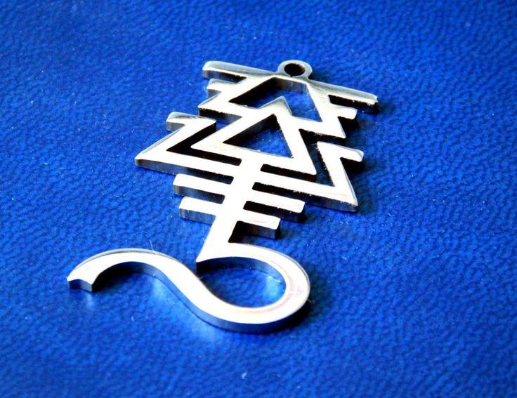 Eldar avatar Warhammer 40k necklace or keychain stainless steel / Eldar pendant / Warhammer cosplay / Warhammer 40000 / Kaela…