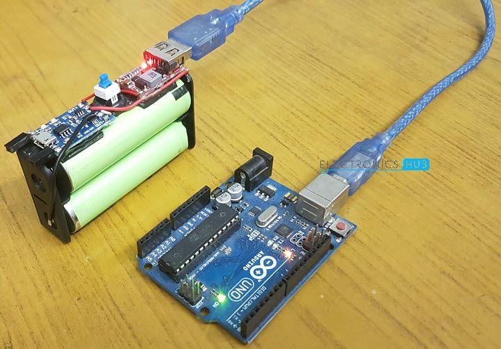 Diy Solar Battery Charger For 18650 Li Ion Batteries Solar Battery Charger Solar Battery Arduino Projects Diy