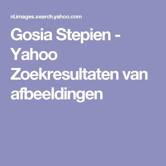 Gosia Stepien - Yahoo Zoekresultaten van afbeeldingen