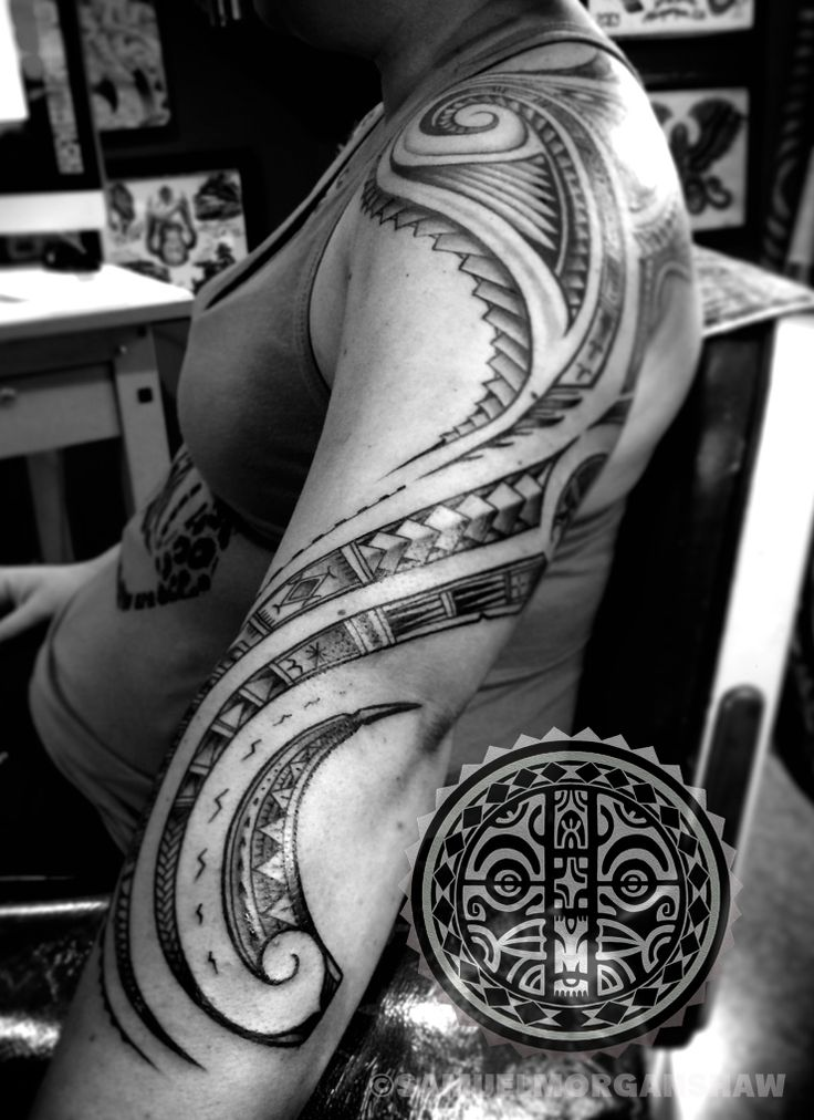 Womens' Polynesian Tattoos | Tatau by Samuel Morgan Shaw