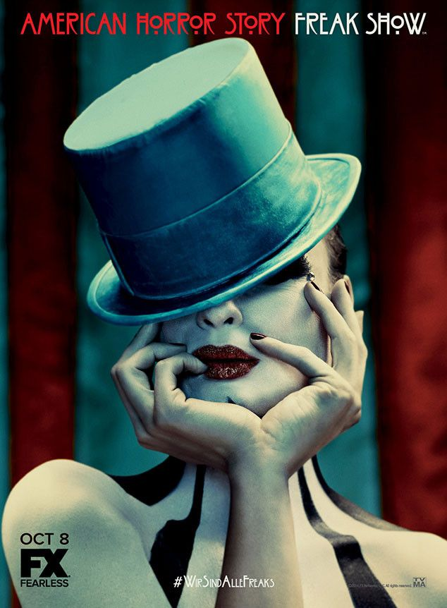 American Horror Story: Freak Show's New Poster Is Glamorous and Understatedly Twisted. One of my favorite programs!