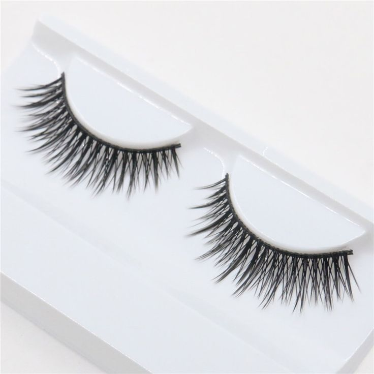 1 pair of loaded cross exaggerated fashion nude makeup fake eyelashes