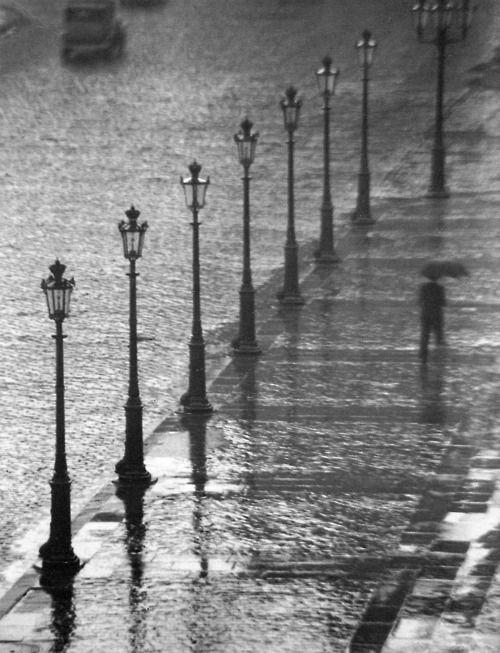 Paris sous la pluie, Paris in the rain.