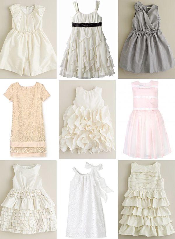 Phi-Style: Flowergirls - Brooklyn Bride - Modern Wedding Blog