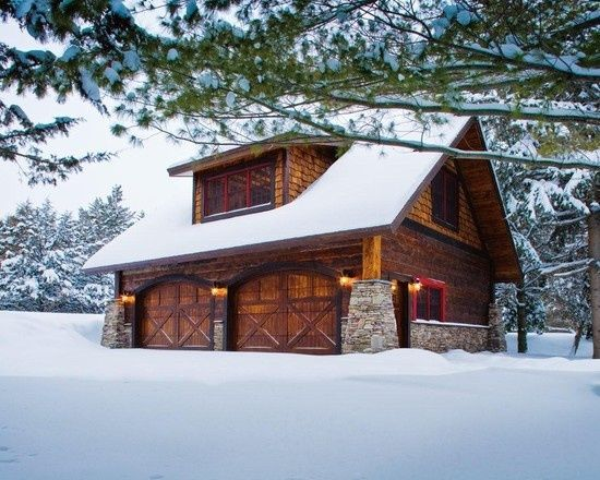Pin by angie coan on log home ideas pinterest Garage cabins