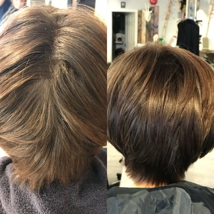 Before and after on medium distribution used dia richesse 7.8 + 15vol