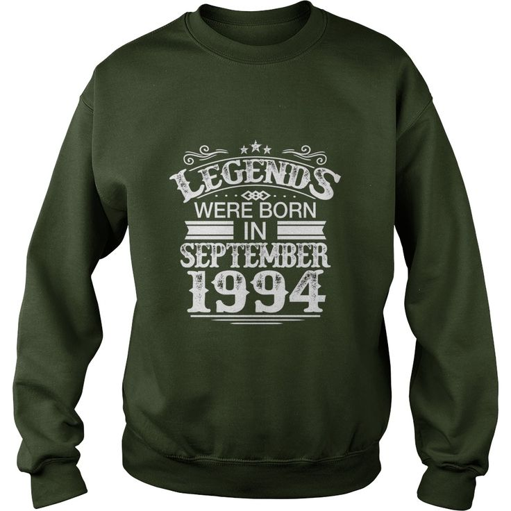 Legends Were Born In September 1994 - Birthday TShirt #gift #ideas #Popular #Everything #Videos #Shop #Animals #pets #Architecture #Art #Cars #motorcycles #Celebrities #DIY #crafts #Design #Education #Entertainment #Food #drink #Gardening #Geek #Hair #beauty #Health #fitness #History #Holidays #events #Home decor #Humor #Illustrations #posters #Kids #parenting #Men #Outdoors #Photography #Products #Quotes #Science #nature #Sports #Tattoos #Technology #Travel #Weddings #Women