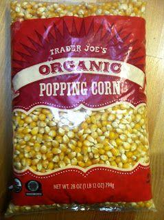 What's Good at Trader Joe's?: Trader Joe's Organic Popping Corn