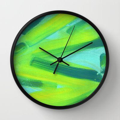 Zig Zag Wall Clock by Alina Sevchenko - $30.00