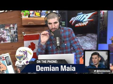 MMA Demian Maia Hopes for Title Shot, but Says 'Things Are Confusing' in the UFC