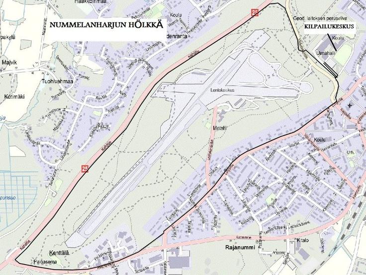 Nummelanharjun hölkkä 15.4.2012