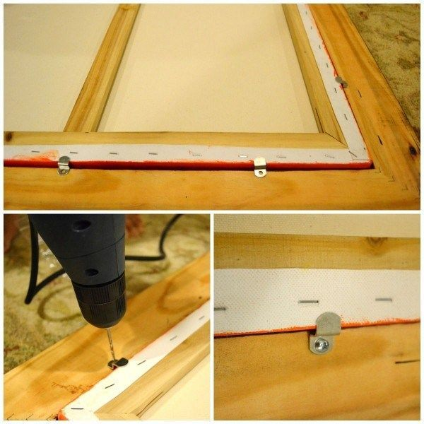 How to frame a canvas painting