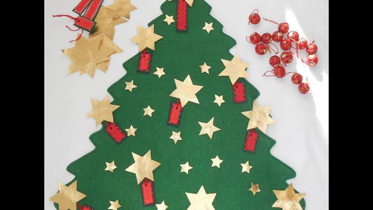 ARBOL DE NAVIDAD DE FIELTRO- CHRISTMAS TREE
