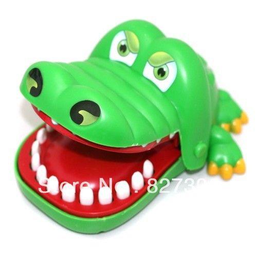 Крокодил Рот Стоматолог Bite, Finger Смешная Игра Партия Семья Игрушки Для Детей Взрослых
