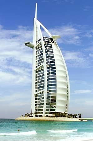 I want to go to Dubai, and stay right here...