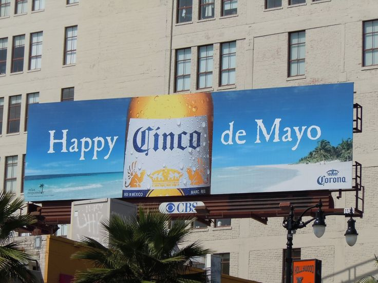 corona cinco de mayo - billboard