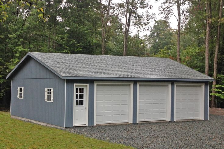Modular Prebuilt Garages For Sale From Lancaster Pa: 13 Best Images About Three Car Garages For Sale On Pinterest
