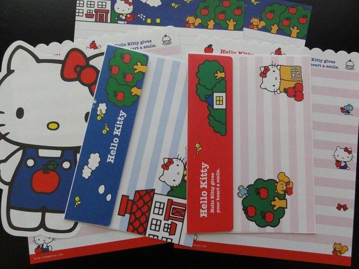 Sanrio Hello Kitty Apples Letter Sets