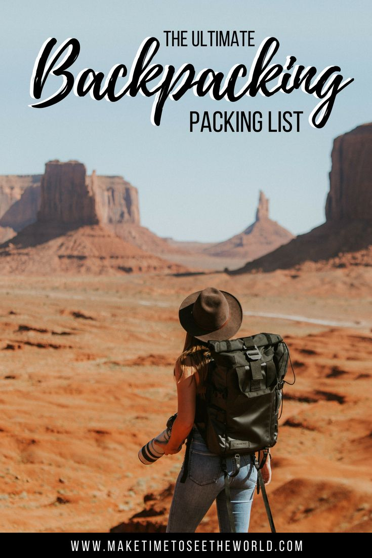 4eccb507b2 Backpacking Essentials   Backpacking Packing List  backpacking  packing  RTW