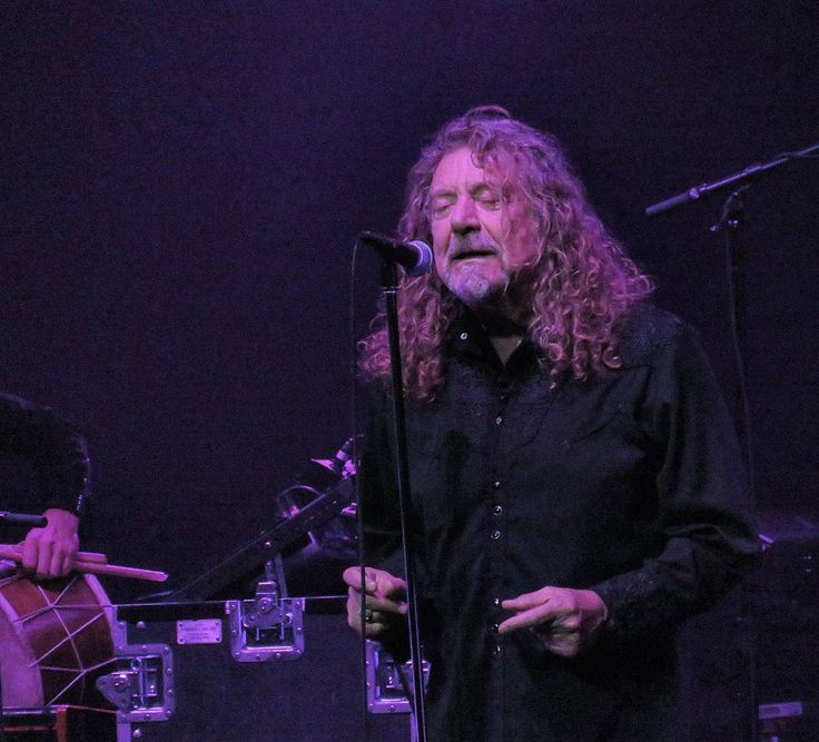 Robert Plant and The Sensational Space Shifters performing last night at the Festival of Disruption in Los Angeles