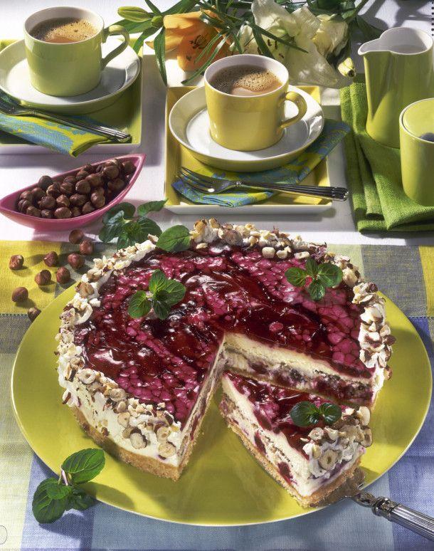 Unser beliebtes Rezept für Philadelphia-Kirsch-Torte und mehr als 55.000 weitere kostenlose Rezepte auf LECKER.de.