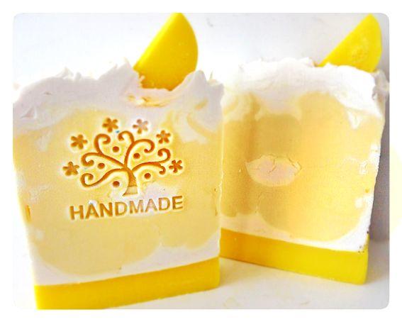 'Naughty but Nice Soap' - Lemon Meringue Pie
