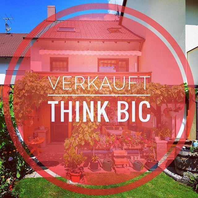 BIC DEAL 👍🏼✒️💥 Soeben wurde eine traumhaftes Reihenhaus mit 140 qm WFL und seinem sehr gepflegten Garten in #heimstetten bei München verkauft!! 🏡  Wir danken unseren Auftraggebern für die gute Zusammenarbeit, sowie das Vertrauen und freuen uns für unsere geschätzten Kunden, welchen das Haus exklusiv über Blickpunkt Immobilien Center vermittelt wurde 💯 THINK BIC #sold #house #deal #immobilien  #verkauft #realestate #business #success  #property #089 #realtors #topservice #happy #notar…