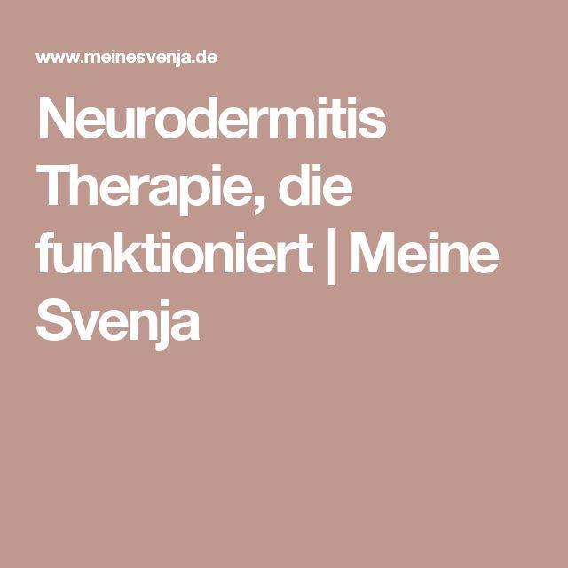 Neurodermitis Therapie, die funktioniert   Meine Svenja