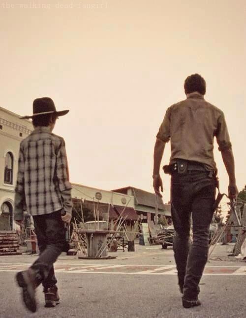 Rick and Carl Grimes ~ The Walking Dead ~ Season 3