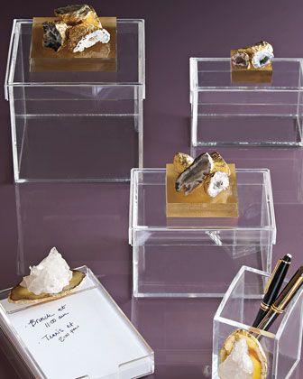 Geode Storage Boxes