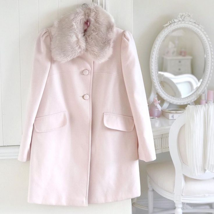 May have a small obsession with pink coats  this one is too perfect though!