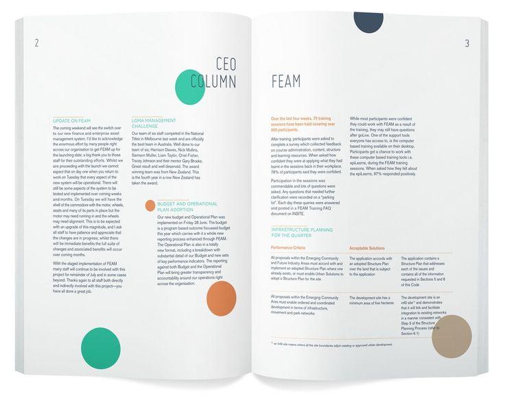 Typesetting - Corporate - Layout