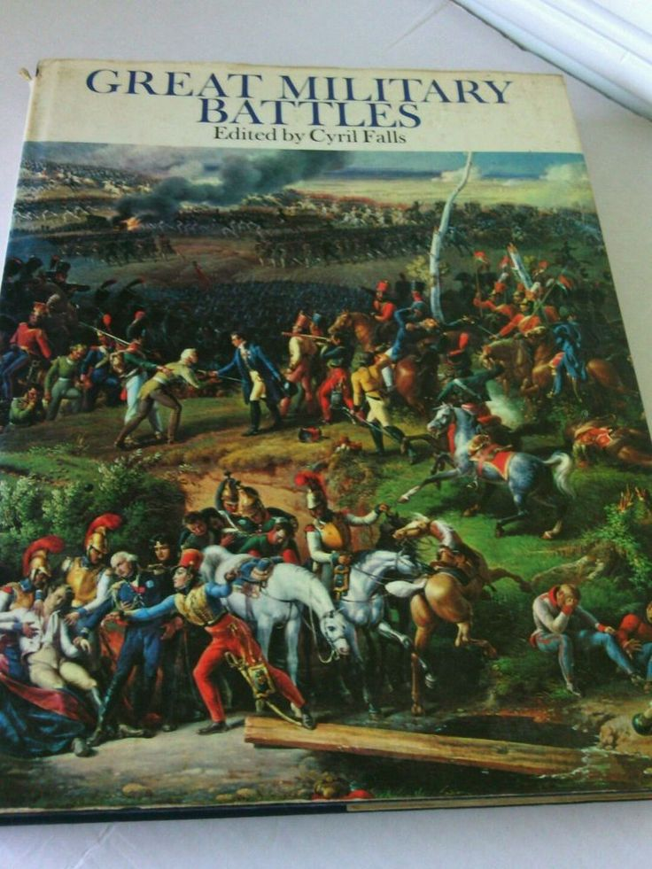 Great Military Battles 1981 Hardcover Book War Guide Illustrated Oversize Army   | eBay