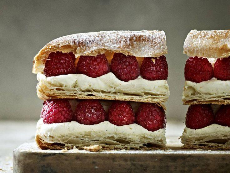 Raspberry Millefeuille | Gordon Ramsay Recipes