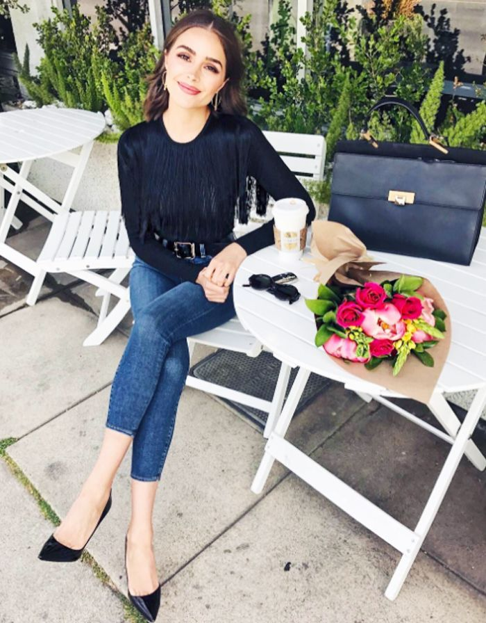 Olivia Culpo Shares the Secret to Her Polished Style—and It Involves Zara via @WhoWhatWearUK