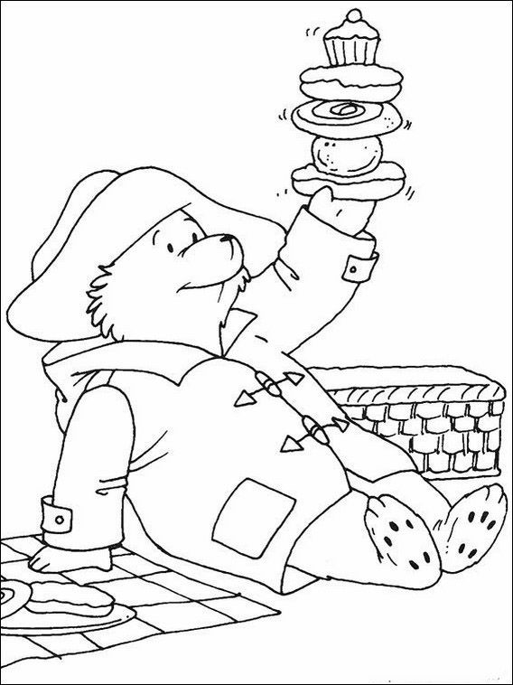 Oso Paddington 10 Dibujos Faciles Para Dibujar Para Ninos Colorear Bear Coloring Pages Paddington Bear Coloring Books