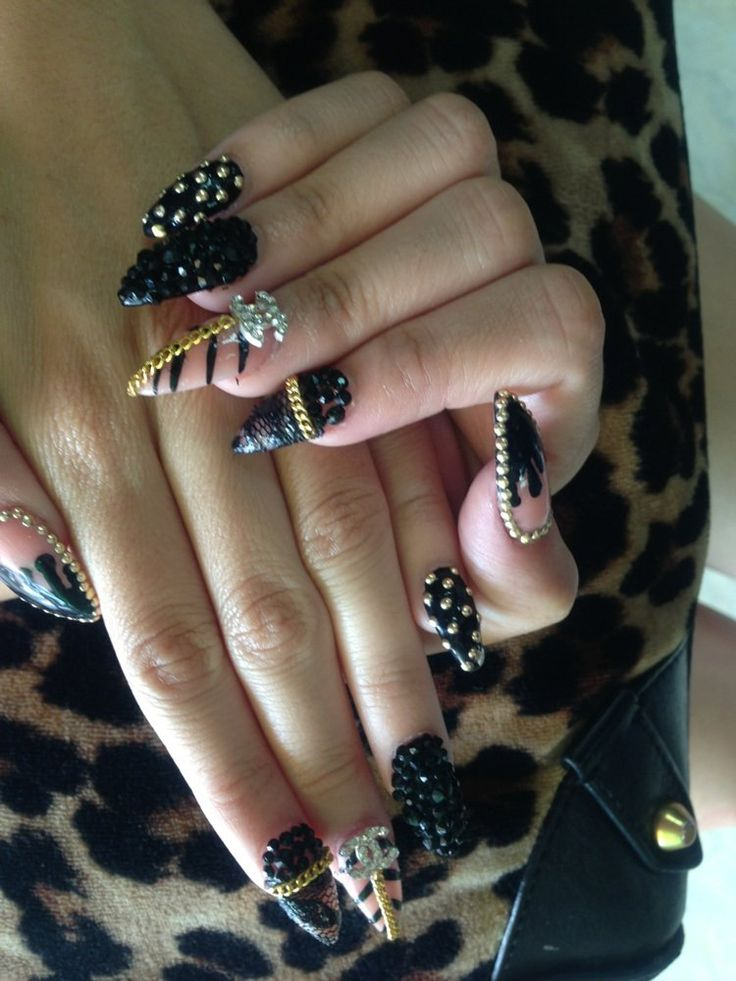 3D Nails - Upland, CA, United States. $40 plus $5 tip new set!! WOW