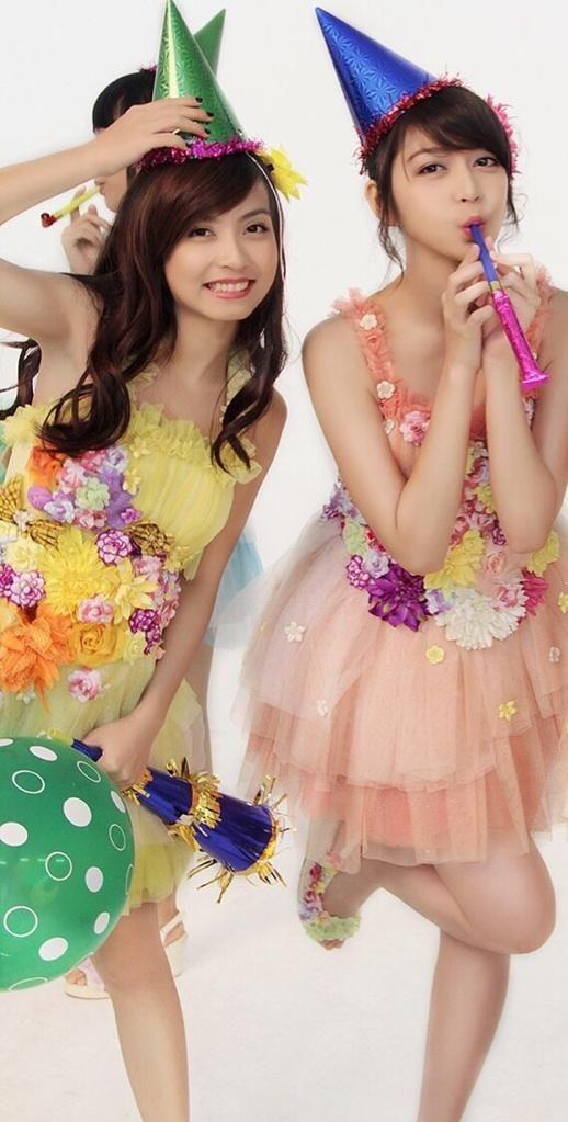 Rica Leyona, Jessica Veranda #JKT48 #AKB48 (IBARAT MARIKO SHINODA & HARUNA KOJIMA) >_<