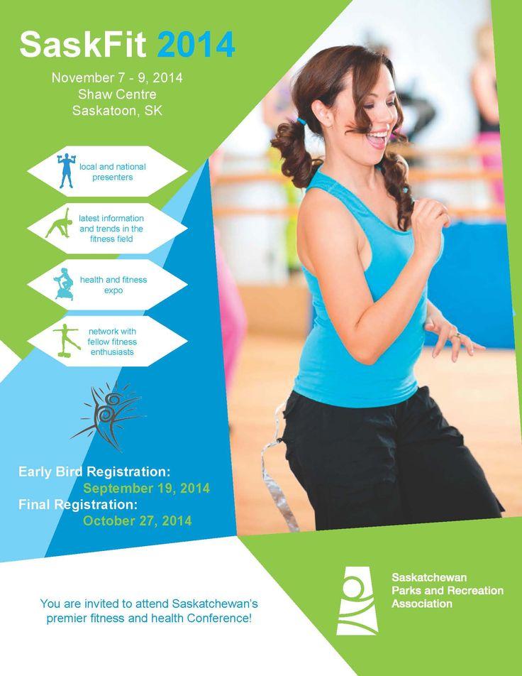 COURSE CALENDAR - SaskFit 2014 Friday, Saturday, Sunday, November 7 - 9, 2014