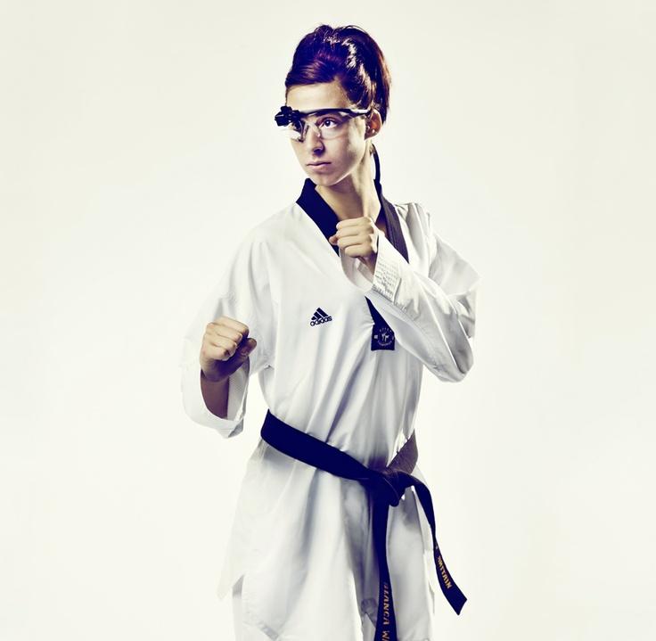 Bianca Walkden, British tae kwon do champion. Performance analysts at the English Institute of