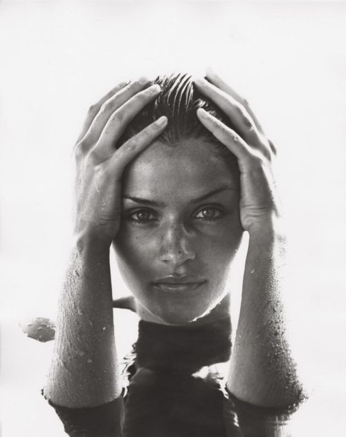 Helena Christensen photographed by Herb Ritts, 1990 - Love this picture!