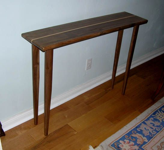 Sofa Table Tutorial