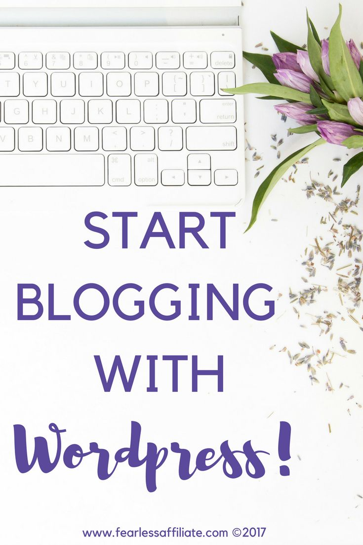 Start blogging with WordPress. Learn about the back office, plugins, and the difference between pages and posts!