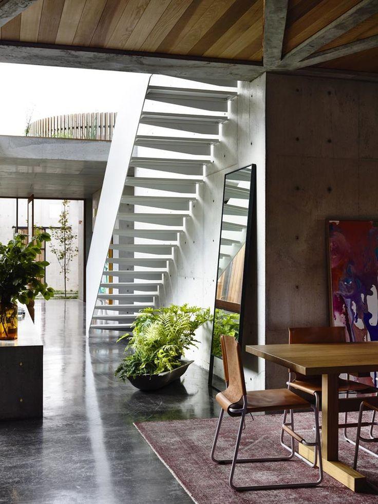 Modern huis van beton aan de kust van Australië - Roomed