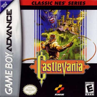 Castlevania NES Series Nintendo Game Boy Advance GBA