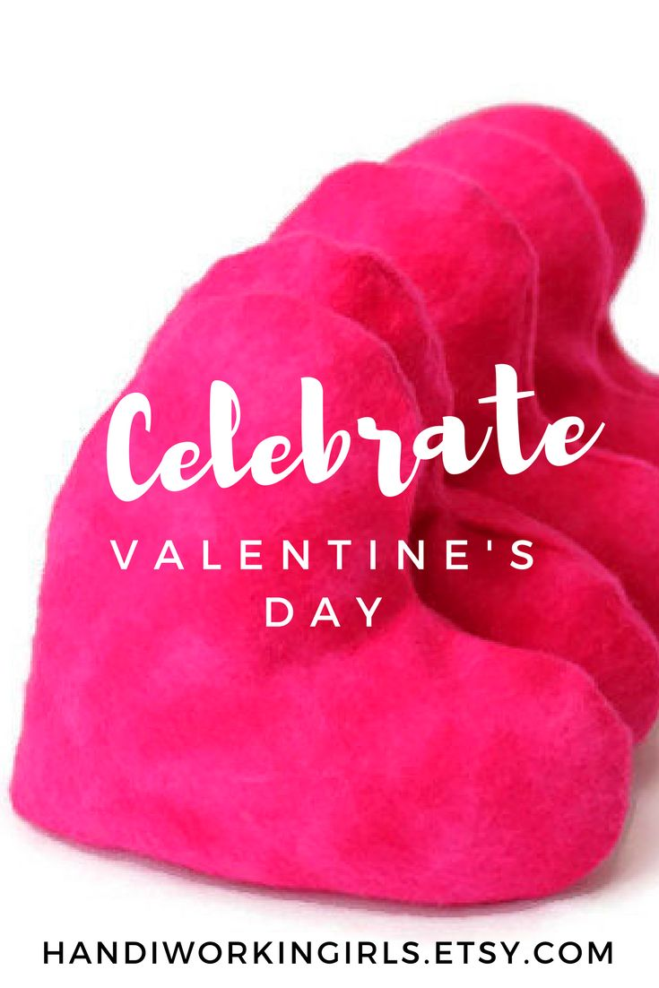 Our hot pink heart bean bags make fun party favors for Valentine's Day parties: https://www.etsy.com/listing/156996395/hot-pink-heart-shaped-bean-bags-bright