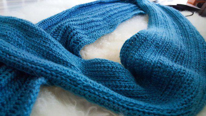 Haken patroon mannen sjaal